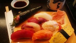 Sushi Image via https://en.wikipedia.org/wiki/File:2007feb-sushi-odaiba-manytypes.jpg