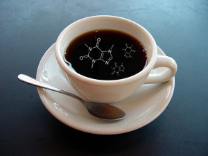 coffee with caffeine
